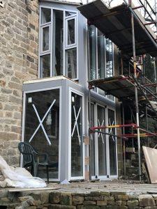 Architectural aluminium in Derbyshire Peak District